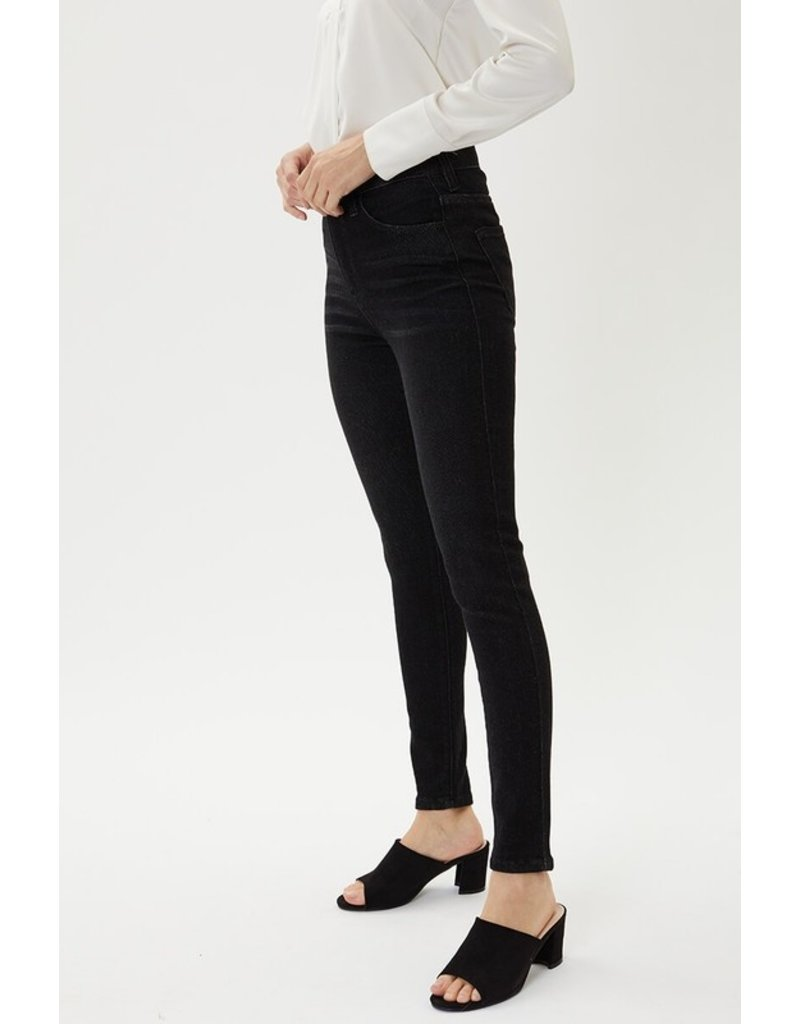The Ultimate High Rise Skinny - Black