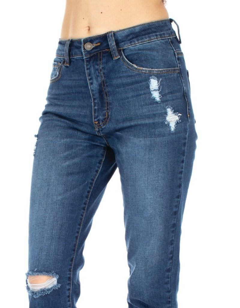 The Matilda Distressed Mom Jeans