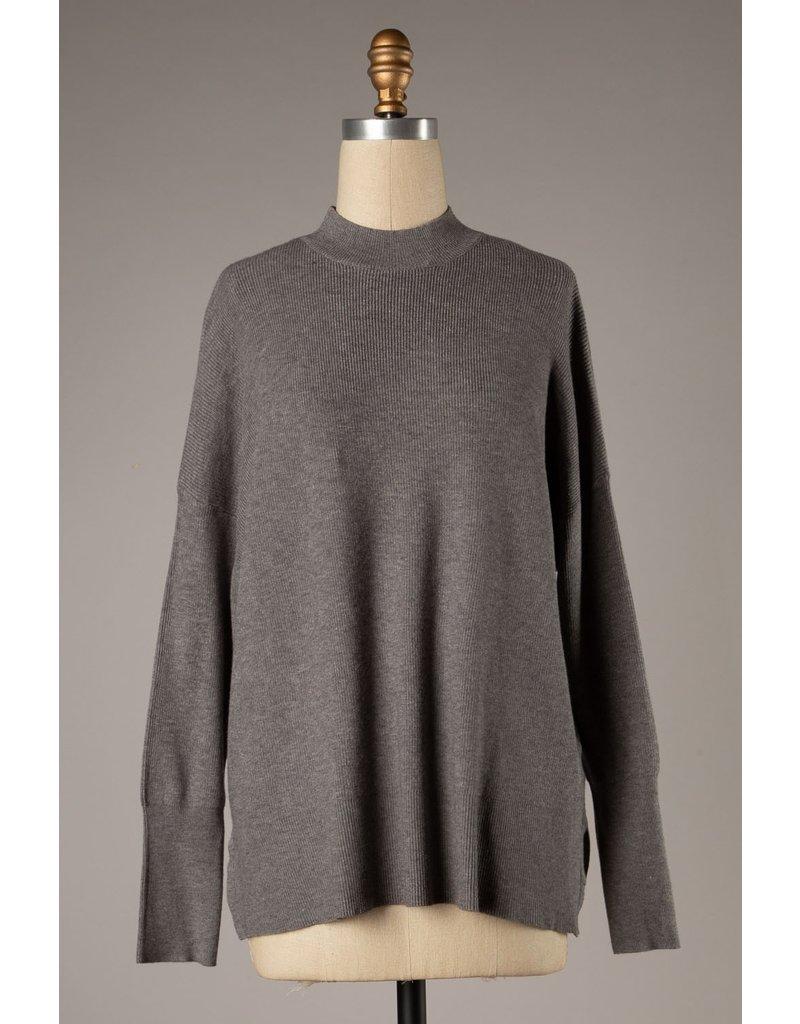 The Dreamer Mock Neck Sweater