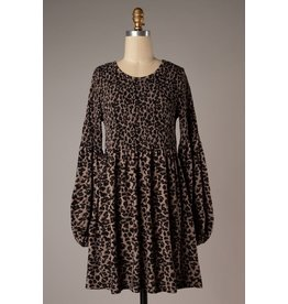 Spot You From Here Leopard Dress