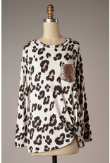 Sparkle In Her Eyes Leopard Top