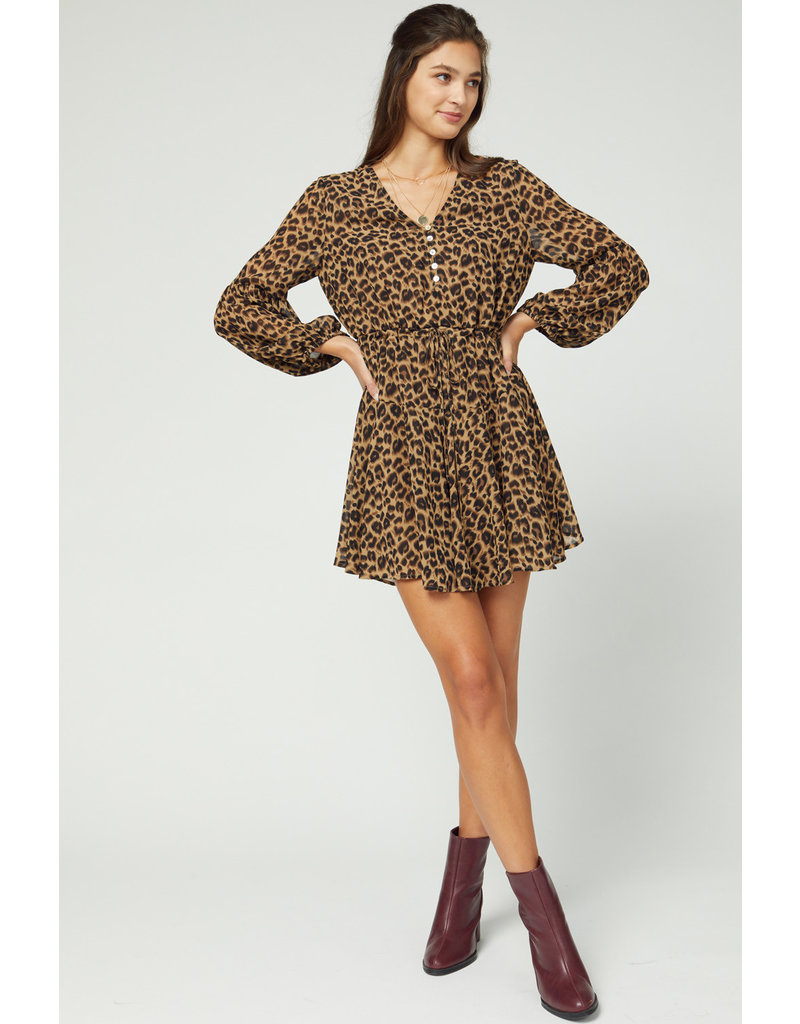 The You Go Girl Leopard Dress