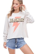 The Blondie Long Sleeve Graphic