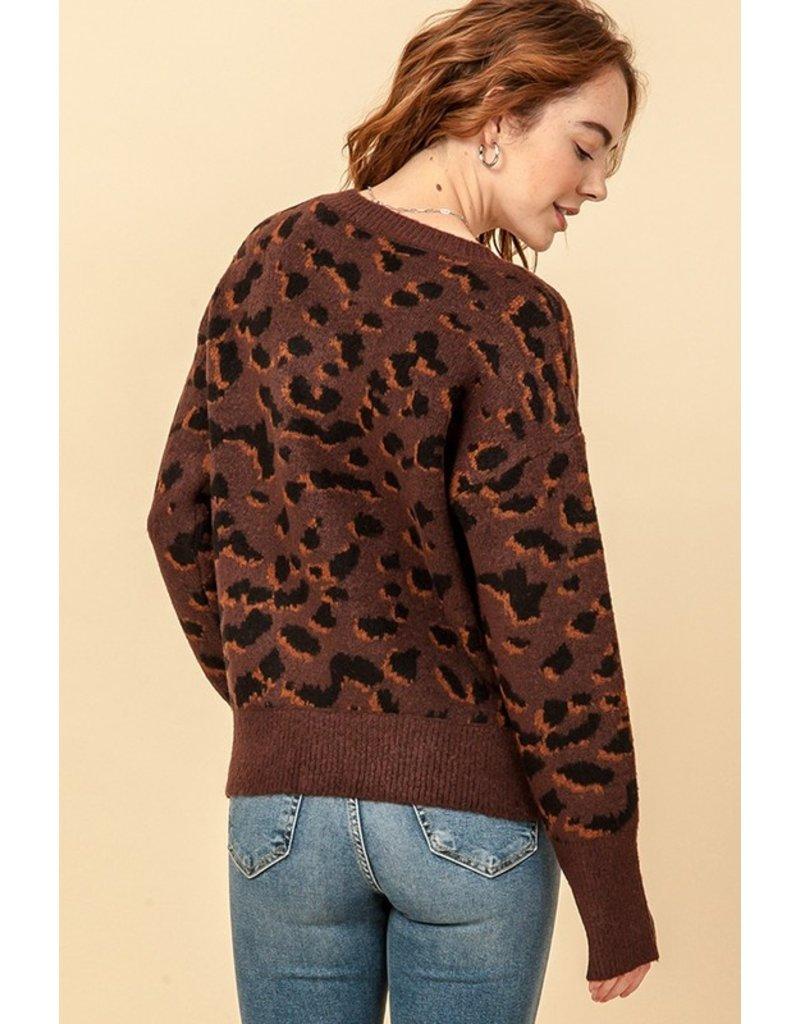 The Like It Or Love It Leopard Sweater