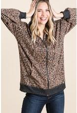 The Let Loose Leopard Hooded Jacket