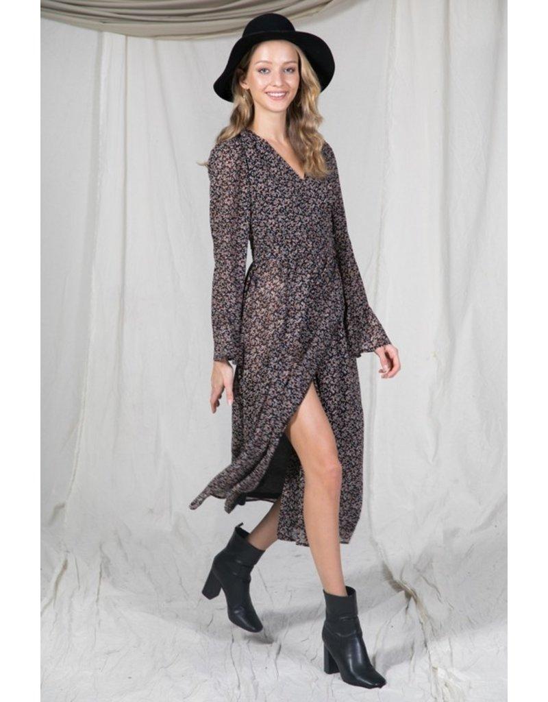 The Girls Weekend Getaway Midi Dress