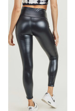 The Glossy Faux Leather Leggings