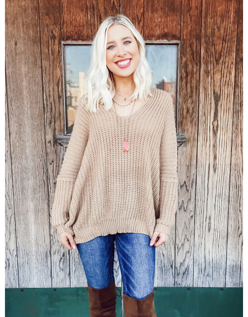 The Winnie Oversized Sweater