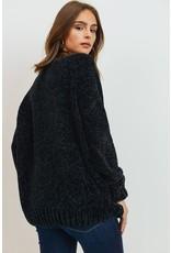 The Midnight Train Chenille Sweater
