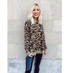 The Search For Perfection Camo Sweatshirt