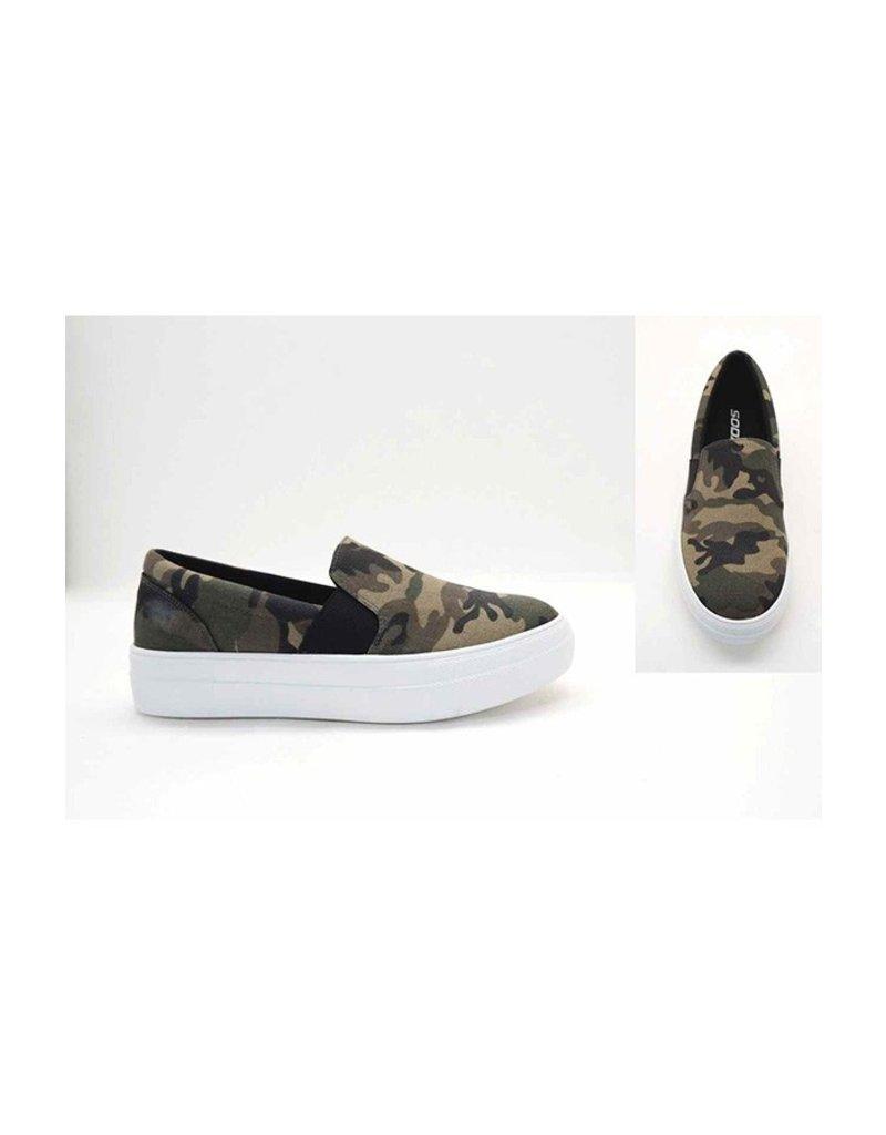 The Stevie Camo Sneaker
