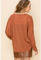 The Wrapped Up in You Knit Top