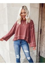 The Accomplish Everything Thermal Knit Top