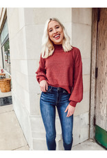 The It's All About Fall Balloon Sleeve Dreamer Sweater