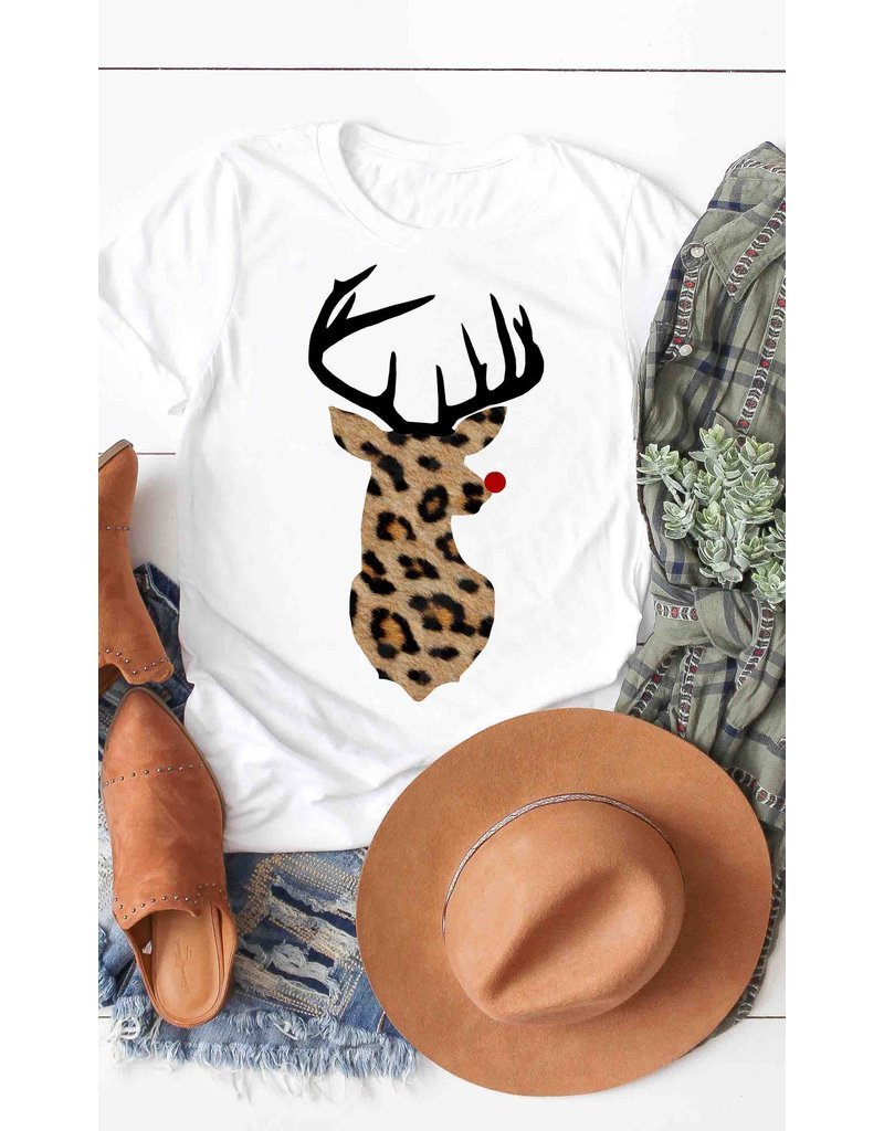 The Leopard Rudolph Graphic Tee