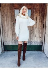 The You Belong With Me Turtleneck Sweater Dress