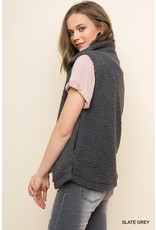 Umgee Layer Of Love Fleece Vest