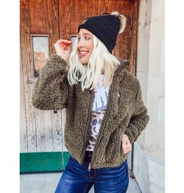 The Wildest Dreams Sherpa Teddy Jacket