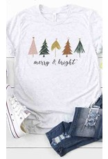 The Merry And Bright Graphic Tee