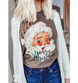 The Leopard Santa Graphic Tee