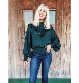 The New Romantics Ruffled Blouse