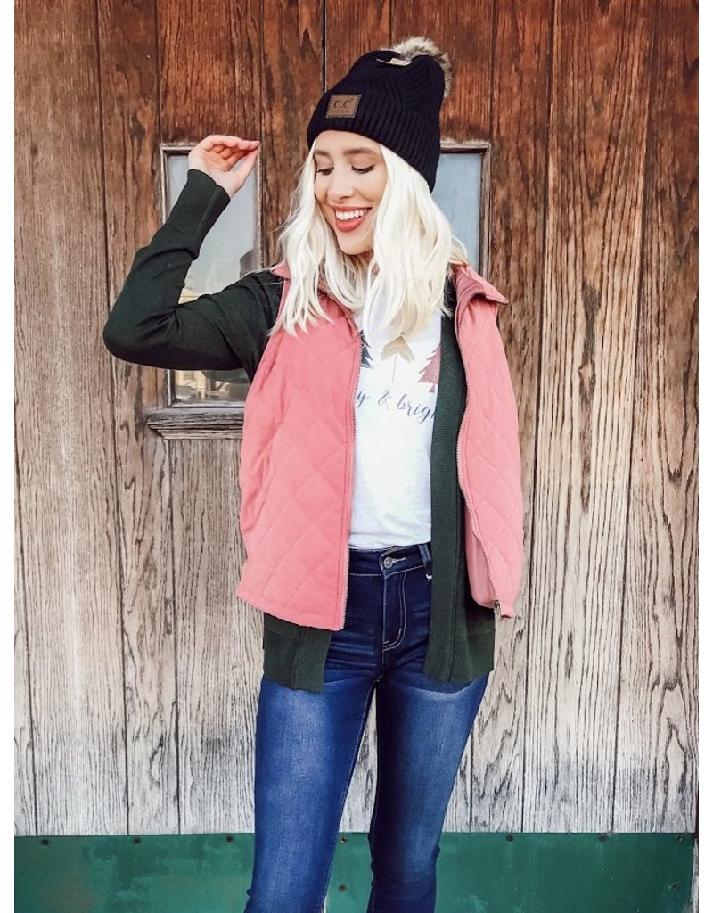 The Betty Quilted Vest