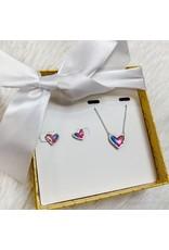 Kendra Scott Kendra Scott Gift Set - Ari Heart Necklace & Stud Earrings