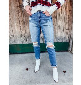 The Rocky Distressed Boyfriend Jeans