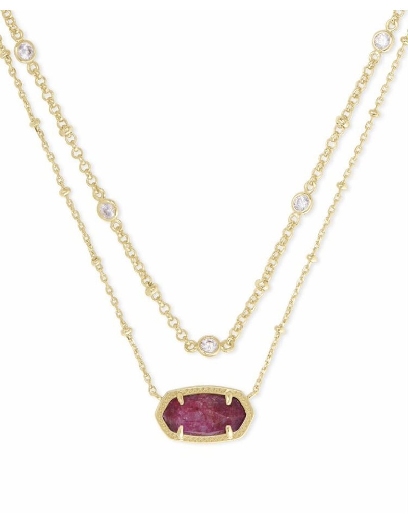 Kendra Scott Elisa Multi Strand Necklace