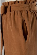 The Macy Paper Bag Waist Pants - Came