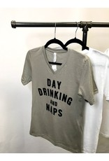 The Day Drinking And Naps Graphic Tee