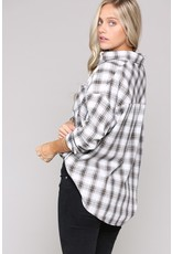 The Plaid Reputation Oversized Button Down