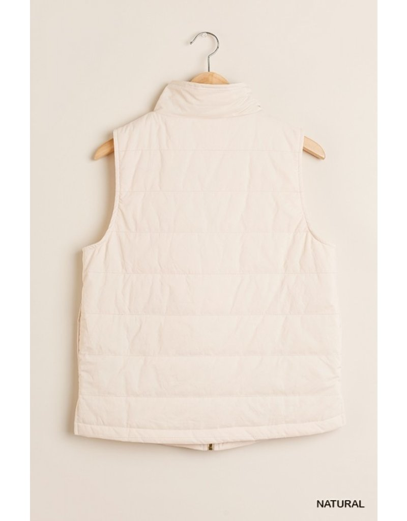 The Laney Quilted Vest