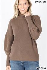 The Cafe Cutie Turtleneck Sweater