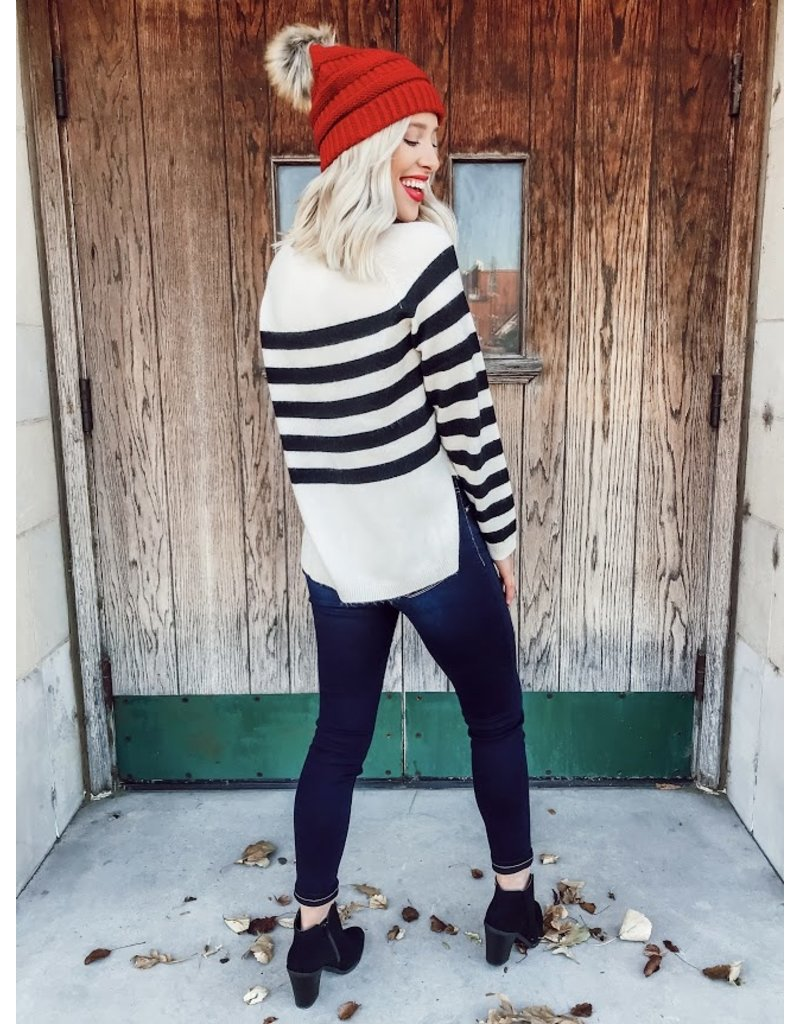 The Effortless Style Striped Sweater