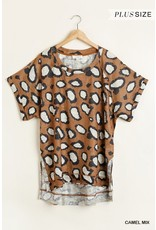 The Curvy Collection - Captivate Animal Print Top