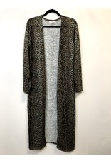 The Alyssa Leopard Duster Cardigan