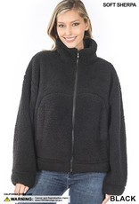 The Ice Rink Sherpa Teddy Jacket