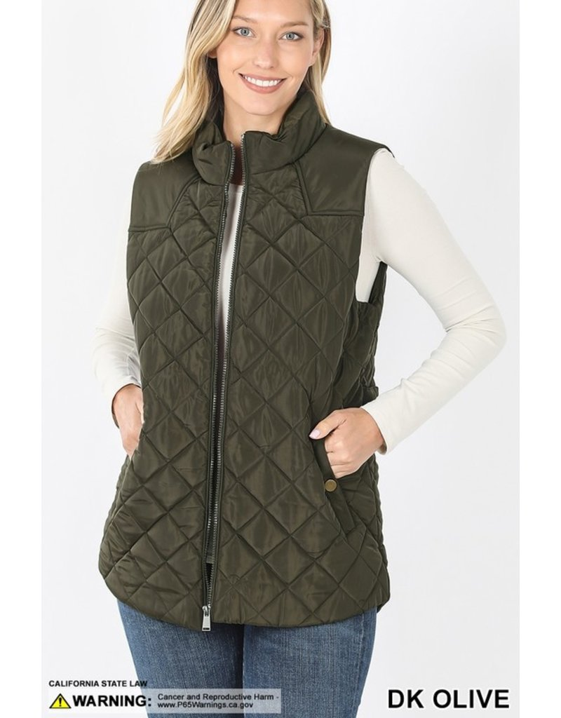 The Forgive And Forget Quilted Vest