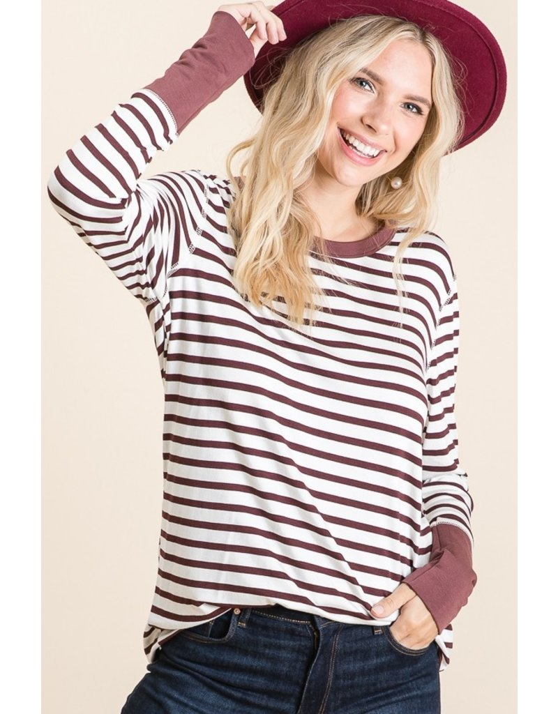 The Kinsley Striped Top
