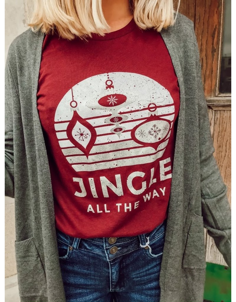 The Jingle All The Way Graphic Tee