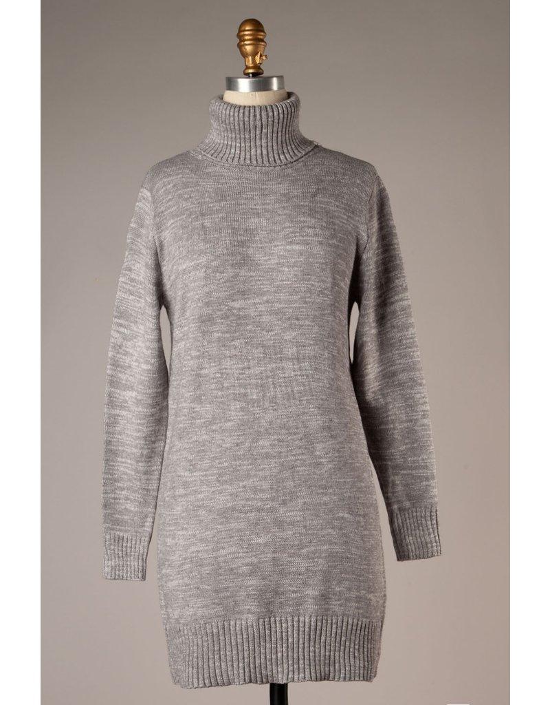 The Good Times Turtleneck Sweater Dress