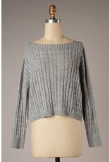 The Wicked Cable Knit Sweater