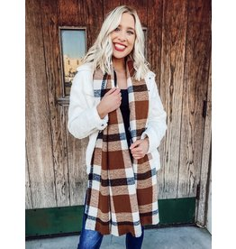 The Samantha Plaid Scarf