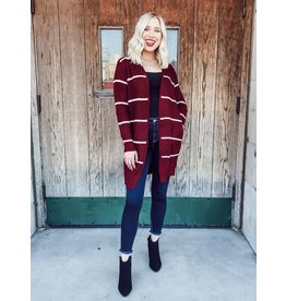 The Picture Perfect Moments Striped Cardigan