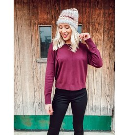 The Bre Round Neck Sweater