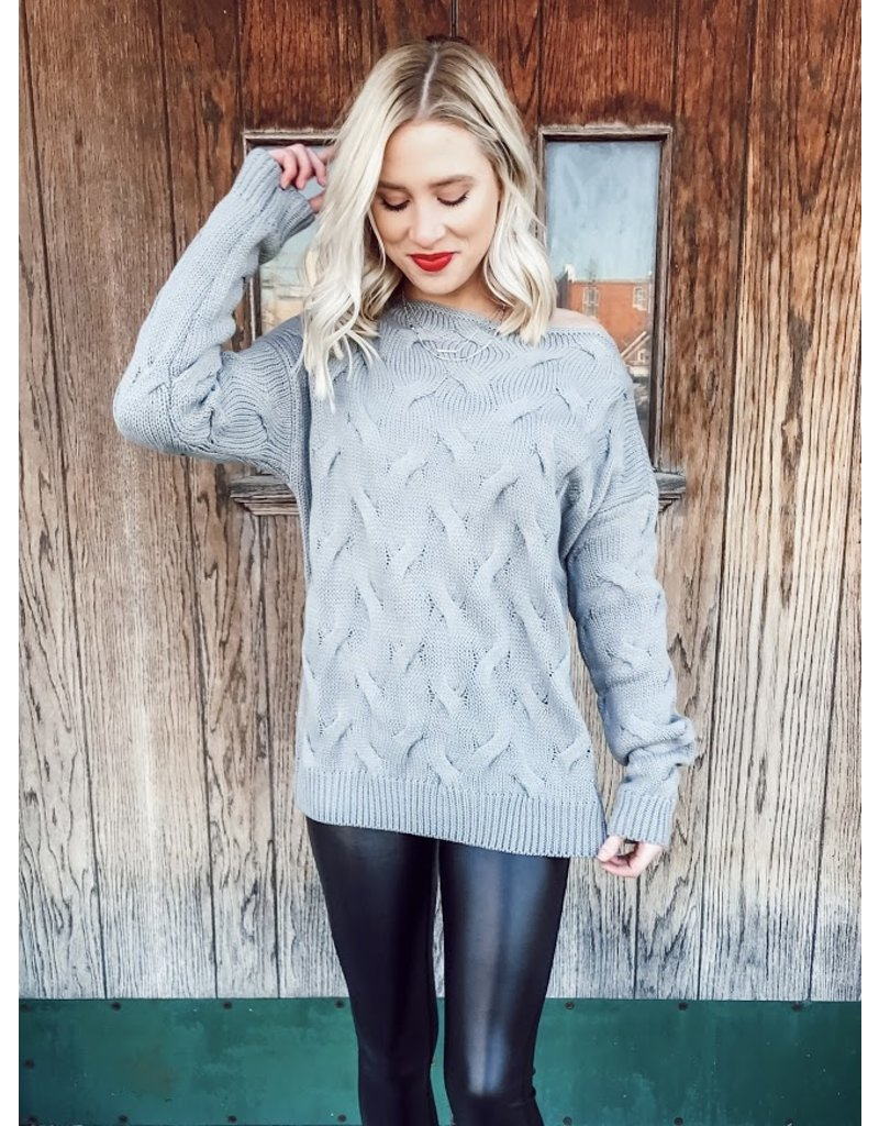 The Isabelle Wide Neck Sweater