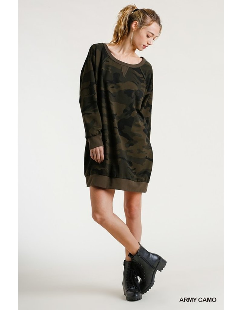 The Ellie Long Camo Pullover