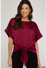 The Nutcracker Satin Blouse