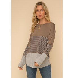 The Heads Up Striped Top